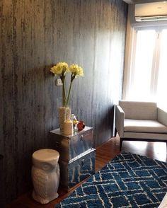 Elements Behang beton look / Wallpaper concrete look - BN Wallcoverings