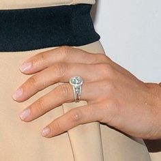 Michaele Salahi Engagement ring diamond engagement nice