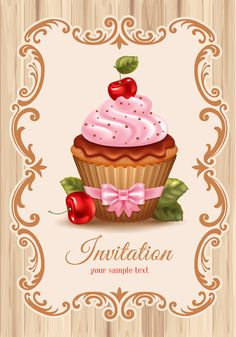 cupcakes vector for free download (28 files)