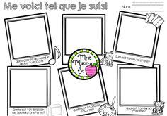 Voici 3 feuilles d'activités en lien avec mon ensemble de 24 cartes à tâches, Questions de la rentrée, à utiliser sous forme de jeu pour la rentrée scolaire afin de mieux connaître vos élèves!