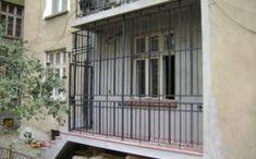 Restoration of wrought iron balcony