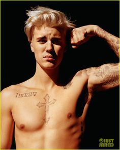 Justin Bieber Wanted to Hold on to His Relationship With Selena Gomez: Photo #892532. Justin Bieber gives the camera a little wink for the latest cover of i-D magazine. The 21-year-old