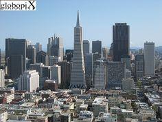 San Francisco Skyline, California (USA), April 2008.
