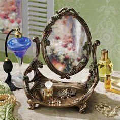 Guimard Art Nouveau Vanity Mirror