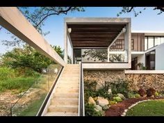Minimalist Modern House Design with Simple Basic Shape and Eco friendly ...
