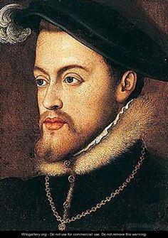 Phillip II of Spain, Husband of Queen Mary by Anthonis MOR VAN DASHORST