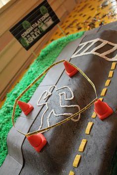 the coolest crime scene cake ever