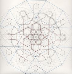SacredArtofGeometry offers regular short courses at Emerson College, Forest Row, UK, national and international study trips, workshops and lectures Geometric Patterns, Geometric Shapes Art, Geometric Drawing, Mandala Drawing, Geometric Designs, Islamic Art Pattern, Arabic Pattern, Vector Pattern, Pattern Art