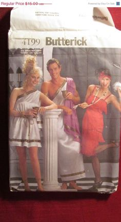 SALE Uncut Butterick Sewing Pattern 4199 All by EarthToMarrs, $10.50