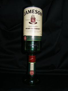 Recycled Jameson Irish Whiskey Goblet on Etsy, $19.99