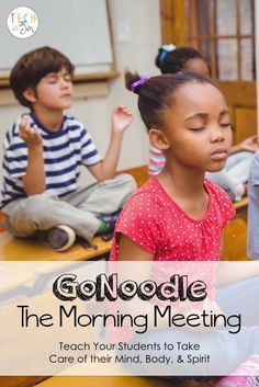 GoNoodle is such a great tool to get students moving but did you know there is another side to GoNoodle? Try using GoNoodle during the morning meeting. Classroom Behavior, Kindergarten Classroom, Classroom Activities, Classroom Management, Classroom Ideas, Behavior Management, Classroom Routines, Classroom Morning Routine, Brain Breaks In The Classroom Elementary