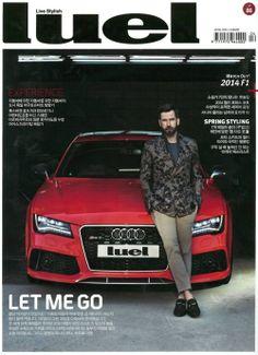 Gucci Cover - Luel Korea, April 2014