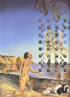 Dali Naked in Ecstasy Before Five Regular Bodies
