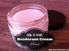 It's So Simple to Learn How to Make Deodorant Cream