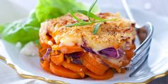 Gamberonis with pepper & lemon, fennel & tangy pistou - Healthy Food Mom Candied Carrots, Gourmet Recipes, Healthy Recipes, Carrot Recipes, Dinner Sides, Vegetable Side Dishes, Light Recipes, Food Print, Food To Make