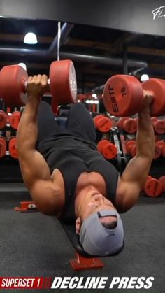 Arm Day Workout, Chest Workout Routine, Gym Workout Videos, Gym Workout For Beginners, Hard Workout, Dumbbell Workout, Gym Workouts For Men, Weight Training Workouts, Chest Exercises