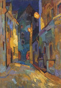 larisa aukon paintings | Larisa-Aukon,-When-Others-Sleep,-32×22,-oil-on-linen