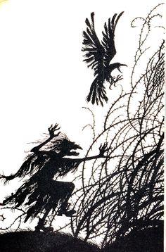 Baba Yaga.  illustrated by Jan Pienkowski.