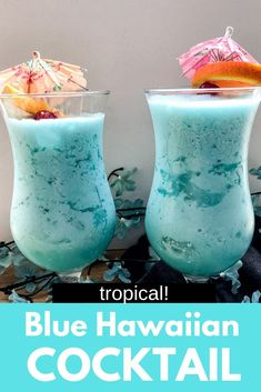 Blue Hawaiian cocktail is basically a pina colada that is blue! The perfect Summer vacation drink. Blue Hawaiian cocktail is basically a pina colada that is blue! The perfect Summer vacation drink. Blue Hawaiian Cocktail, Hawaiian Cocktails, Party Drinks, Cocktail Drinks, Cocktail Recipes, Fun Cocktails, Summer Drink Recipes, Alcohol Drink Recipes, Fireball Recipes