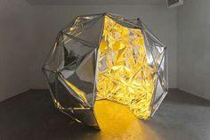 Luminous Cubed Artwork : sculptures and structures