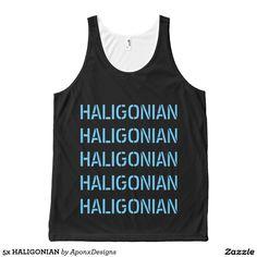 5x HALIGONIAN Shirt Blue Design, Printed Tank Tops, Tank Man, Mens Tops, Shirts, Women, Fashion, Moda, Fashion Styles