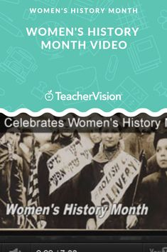 Learn about the history of women's rights and the Nineteenth Amendment through these educational videos and related activities for Women's History Month. Students will learn about Susan B. Anthony, Elizabeth Cady Stanton, and the women's movement Elizabeth Cady Stanton, Women's Rights, Women's History, Educational Videos, Lesson Plans, Literature, Student, Activities, How To Plan