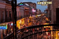 Even if you can't make it to top-drawer events like Mardi Gras or Jazz Fest, it's always a good time in New Orleans, which is celebrating its birthday this year. Here are some of the top things to do on your next visit to the Big Easy. Scary Backgrounds, New Orleans Travel Guide, Visit New Orleans, Bourbon Street, Haunted Places, Travel Goals, Places To See, Adventure, Mardi Gras