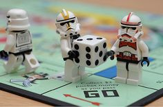 "Board games, Hide and Seek, Couch Forts, Binge Watching, or the ever-popular Living Room ""Battle Royale"". what is everyone doing to pass their time at home? Legos, Monopoly, Aniversario Star Wars, Minions, Star Wars Figurines, Lego Stormtrooper, Super Troopers, Lego Pictures, Lego War"