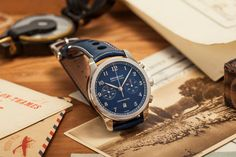 The The Watch Gallery announce their Limited Edition Bremont Watches Chronograph. Read all about their true-blue, English collaboration now, on www.Revolution.Watch @todayswatchfashion,