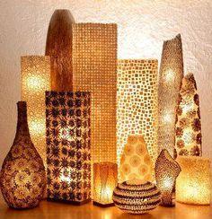 floor lighting - african decor