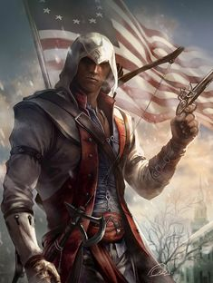 Conner Kenway by aenaluck on DeviantArt