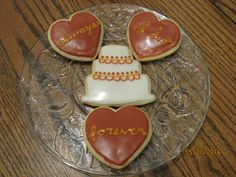 Fall Wedding Sugar Cookies