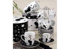 Juego de té en el diseño del gato: taza y platillo de taza y artículos. Artículo no.: gy-mt-008-Tazas/Mugs/Tarros-Identificación del producto:225310817-spanish.alibaba.com