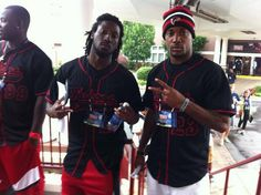 Falcon Swag - Desmond Trufant, Robert Alford and all the rookies at the Rookie Symposium