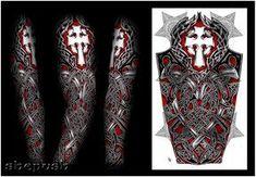 Nathaniel Celtic full sleeve by shepush