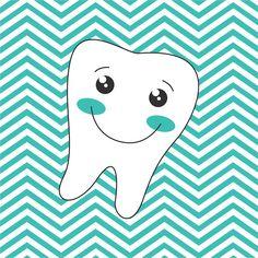 Arte para Caixas, Quadrinhos ou Álbum dos Dentinhos Grátis para Baixar
