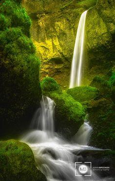 Below the Cascade by Mark Brodkin on 500px
