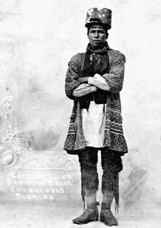Faces of Florida, Charlie Tiger Tail was a Seminole chief and the first of his tribe to become a … Native American Photos, Native American Tribes, American History, Native Americans, Vintage Florida, Old Florida, Seminole Indians, Seminole Florida, Historical Pictures