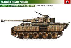 Pz.Kpfw V Panther Ausf.D1 mit Pz.Kpfw IV Ausf.H Türm