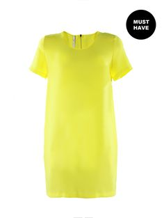 Lemon love in this dress