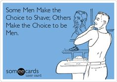And I love those men...As long as it's just scruffy, and not Duck Dynasty.