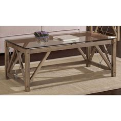 Cable Coffee Table | Overstock.com Shopping - The Best Deals on Coffee, Sofa & End Tables