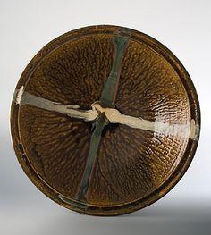 Shoji Hamada  |  Large Bowl, with amber glaze.