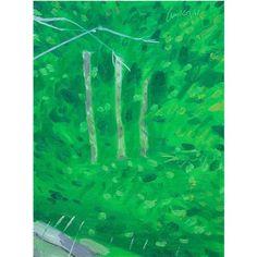 """Alex Katz - """"Trees in Maine""""   myartmap"""