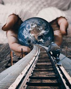 Удивительные коллажи. Художник Huseyin Sahin . | Оригинальное творчество талантливых и увлеченных людей