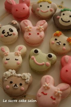 Simply adorable animal macarons [photo only]
