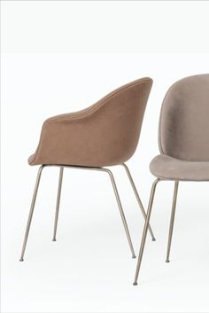 Warm Earthy colourway with hues of caramel, beige and taupe tones combine together to complement the softness of the legs finish in antique brass. Beetle Chair, Taupe, Beige, Live Life, Earthy, Antique Brass, Caramel, Dining Chairs, Warm