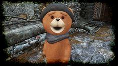 Rupert the Teddy Bear Companion at Skyrim Nexus - mods and community Skyrim Nexus Mods, Skyrim Mods, Werewolf, Teddy Bear, Community, Toys, Animals, Activity Toys, Animales