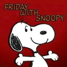Friday with Snoopy!