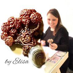 Elisa e il suo albero dolce dolce come lei  corso Fantasy Stones 2.0 #staytuned . . . #archidee #becreative #bepositive #polymerclayworkshop #polymerclay #cernit #fimo #sculpey #treeoflife #modelling #corso #gameofthrones #weirwood #trees  #masterclass #polymerclayclass #polymerclayjewelry #tronodispade #instajewelry #handmade #supporthandmade #roma #teaching #learning #fimocreations